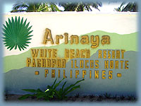 Arinaya Beach Resort Page